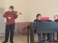 Concert cu vioara lui Enescu