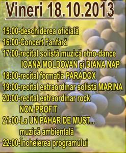 Program vineri