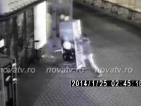 Vandalism in Piata AgroalimentarA