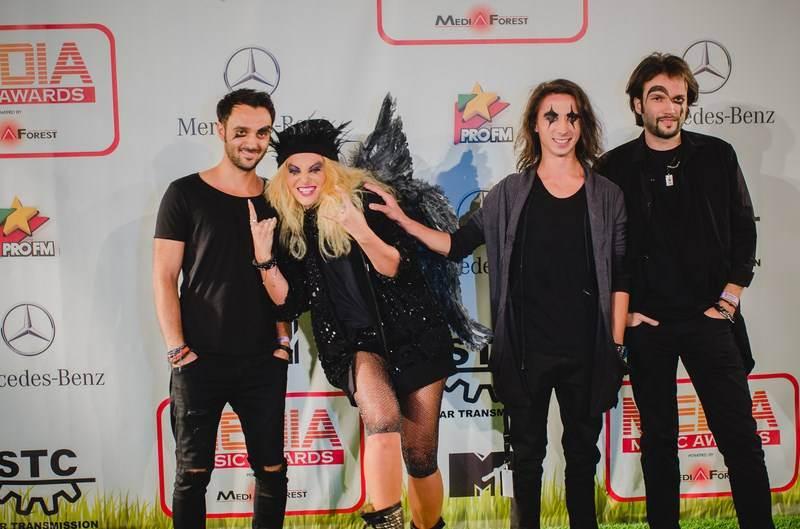 Delia Matache la Sibiu Media Music Awards 2014