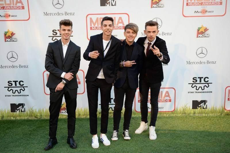 Maxim la Sibiu Media Music Awards 2014