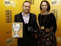 """Sibianul Alexandru Dragomir a câştigat premiul pentru """"Cel Mai Promiţător Brand Românesc"""""""