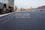 Autostrada nouă are prima crăpătură la zece zile de la deschidere   VIDEO