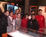 Dinamoviştii s-au întâlnit cu suporterii în centrul Mediaşului | VIDEO