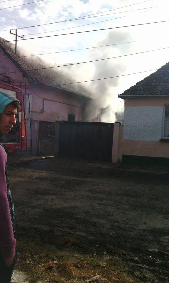 Incendiu Dumbraveni