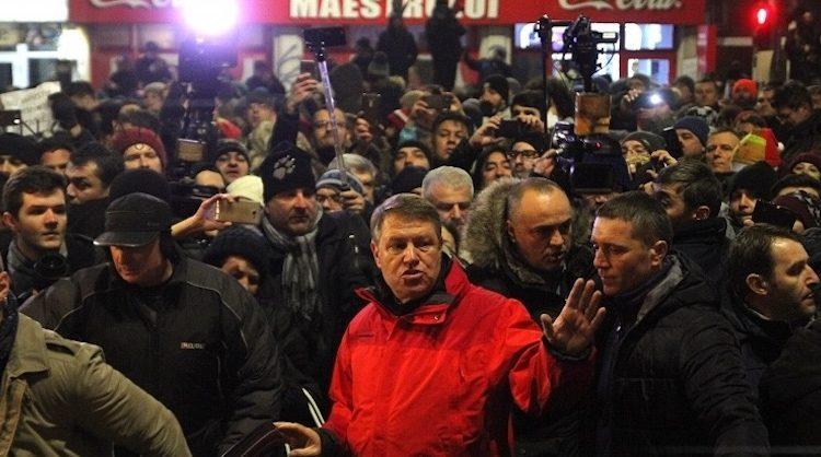 Iohannis proteste bucuresti