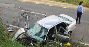 accident Accidentul de circulație s-a produs joi dimineața în jurul orei 8:00 la intrare în Târnava dinspre Copșa Mică.