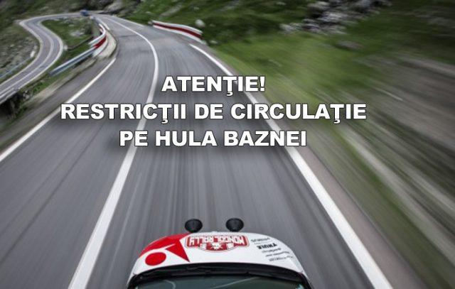 restricţii de circulaţie dn 14a