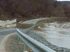 drum blocat de inundatie la alma dumbraveni