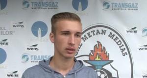 Gaz Metan a împrumutat un jucător la FC Hermannstadt.