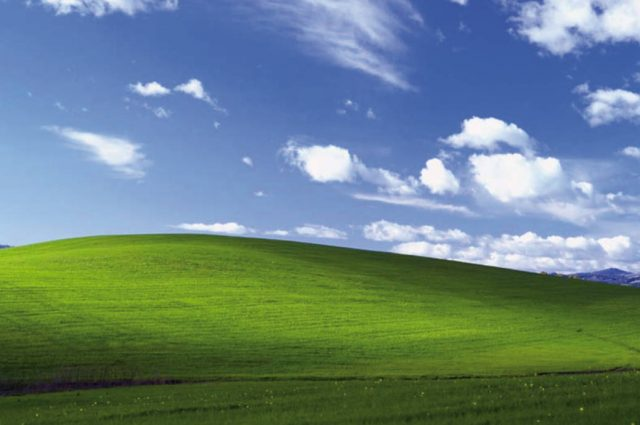 Windows XP wallpaper 1040x690