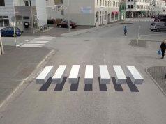 Trecerea de pietoni Islanda