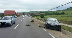 accident dn14 la copșa mică