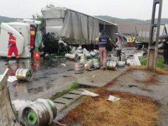 Accident pe Drumul E60 în județul Mureș