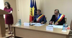 Acord de înfrățire între orașele Copșa Mică și Ștefan Vodă