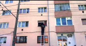 decedat in balconul locuinței