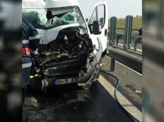 Accident A1 Sebeș-Sibiu