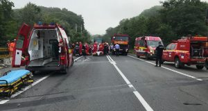 accident petrecut pe DN 1 judetul Sibiu