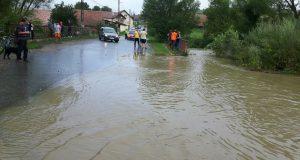 localități Sibiu afectate de viituri