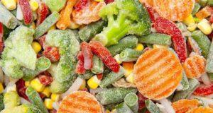 fructele și legumele congelate retrase