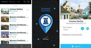 aplicatia-drumul cetăților transilvania