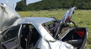accident DN14 intrare în Hoghilag