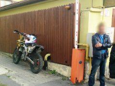 Motociclist fără permis