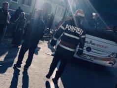 Un autocar cu 58 persoane la bord a luat foc pe DN1 județul Sibiu