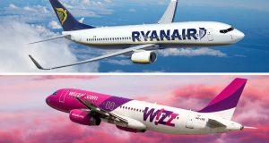 Wizz Air şi Ryanair au fost reclamate la Consiliul Concurenţei