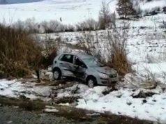 accident lângă Bradu