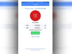 Aplicația APEL 112