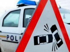 accident pe dn 14 ieșire Sibiu spre Mediaș