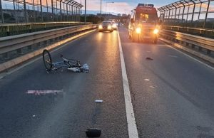Biciclist accidentat mortal
