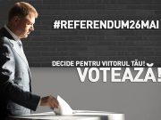 Mesaj de susţinere pentru referendum