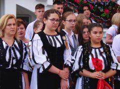 Sfârșit de an școlar la SNG Mediaș în Ia tradițională