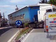 Deviere trafic la Târnăveni de pa dn 14a